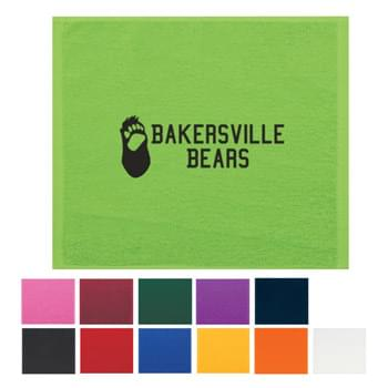Rally Towel - Show Your Team Spirit With Colorful Rally Towels! | 100% Cotton Terry Material | Not Colorfast, Wash Separately In Cold Water