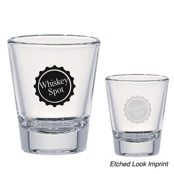 Original Whiskey Shooter - 1.75 Oz. Clear Shot Glass | Made In The USA | Meets FDA Requirements | Hand Wash Recommended