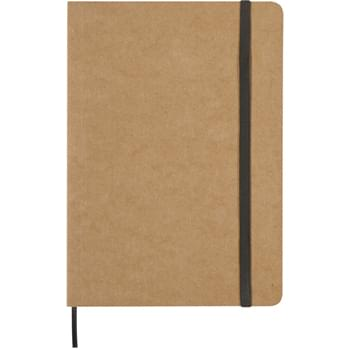 "5"" x 7"" Eco-Inspired Strap Notebook - Paper Cover   