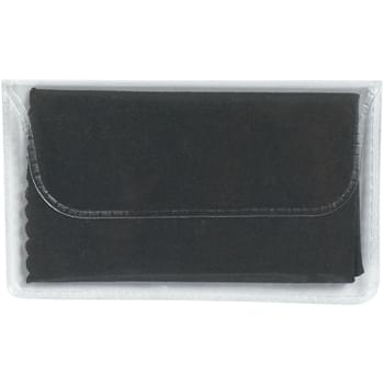 "Microfiber Cleaning Cloth In Case - CLOSEOUT! Please call to confirm inventory available prior to placing your order!<br />6"" W x 6"" H Cloth 