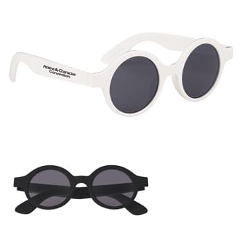 Lennon Round Sunglasses - Made Of Polycarbonate Material | UV400 Lenses Provide 100% UVA And UVB Protection