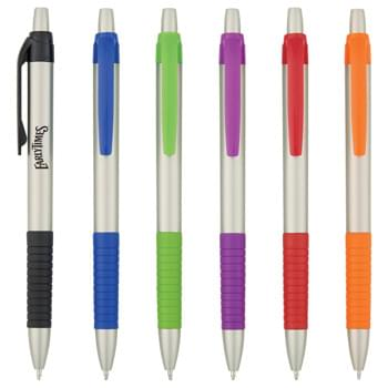 Serrano Tropic Pen - Plunger Action   | Rubber Grip For Writing Comfort And Control