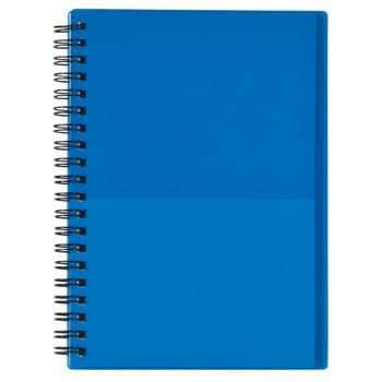 "5"" x 7"" Two-Tone Spiral Notebook - 70 Page Lined Notebook 
