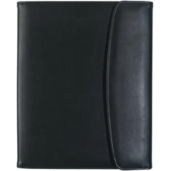 "Leather Look 8 ½"" x 11"" Portfolio - Includes 30 Page 8 ½"" x 11"" Writing Pad 