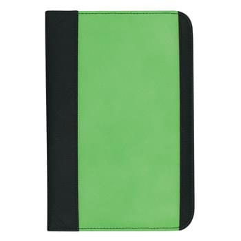 "Non-Woven Small Padfolio - Made Of 80 Gram Non-Woven, Coated Water-Resistant Polypropylene | 30 Page Lined 5"" x 7"" Writing Pad 