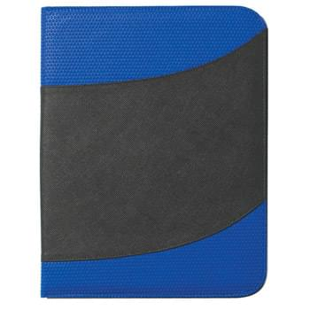 "Non-Woven 8 ½"" x 11"" Bubble Padfolio - Made Of 80 Gram Non-Woven, Coated Water-Resistant Polypropylene 