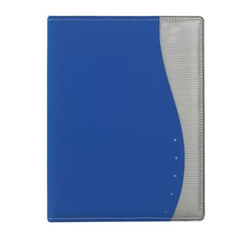 "Wave 8 ½"" x 11"" Portfolio - Includes 30 Page 8 ½"" x 11"" Writing Pad 