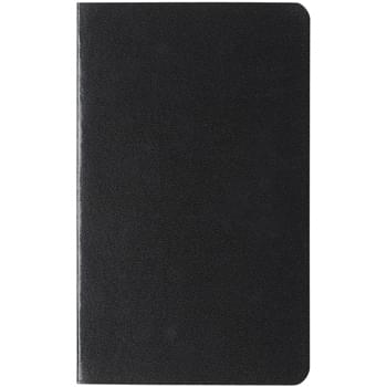 "5"" x 8"" Cannon Notebook - Leatherette Paper Cover   