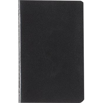 "3"" x 5"" Cannon Notebook -  Leatherette Paper Cover   