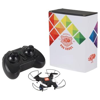 Mini Drone with Camera and Full Color Wrap - Includes Mini Drone with Camera and Full Color Wrap
