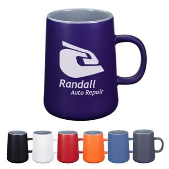 14 Oz. Versailles Ceramic Mug - CLOSEOUT! Please call to confirm inventory available prior to placing your order!<br />Meets FDA Requirements   | Hand Wash Recommended