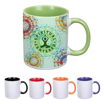 11 Oz. Dye Blast Full Color Mug - Meets FDA Requirements   | Hand Wash Recommended