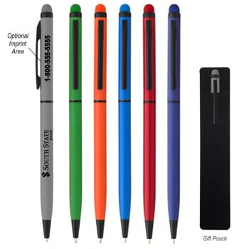 Gracile Stylus Pen - Twist Action   | Aluminum Pen  | Stylus On Top