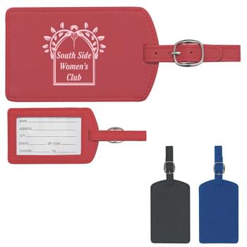 Luggage Tag - Soft Touch Luggage Tag With Adjustable Strap | ID Card