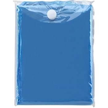 Disposable Poncho - PE Poncho With PVC Pouch | One Size Fits All