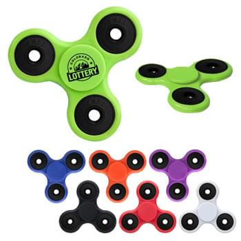 Fun Spinner Lite - CLOSEOUT! Please call to confirm inventory available prior to placing your order!<br />Spin Between Thumb And Middle Finger | Perfect For Reducing Stress And Boredom | Encourages Focus And Self-Soothing For Users With Anxiety, Attention Disorders And More | Fun For All Ages (5+) | Plastic Outer Rings