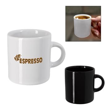 3 Oz. Espresso Ceramic Cup - Meets FDA Requirements | Not Recommended for Commercial Use | Hand Wash Recommended