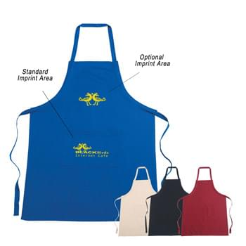 100% Cotton Apron - Made Of 100% Cotton | Large Front Pocket | Tie Straps