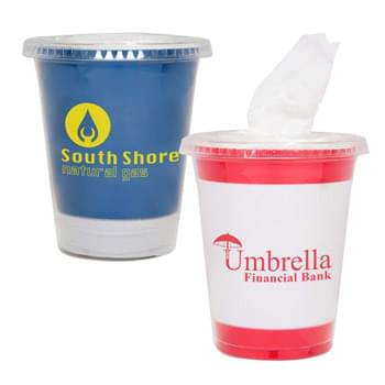 Tissue Cup - Contains 20 Tissues | Fits Perfectly In Your Car's Cup Holder