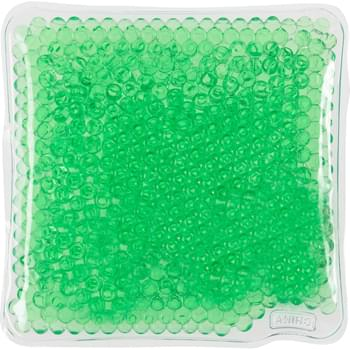 Square Gel Beads Hot/Cold Pack - Therapeutic Gel Pack Applies Heat Or Cold To Sore Muscles | Microwave And Freezer Safe | Reusable And Non-Toxic | Instructions Printed On Reverse Side