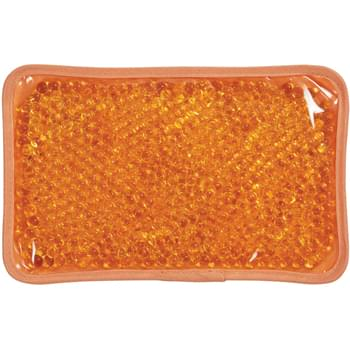 Plush Gel Beads Hot/Cold Pack - CLOSEOUT! Please call to confirm inventory available prior to placing your order!<br />Therapeutic Gel Pack Applies Heat Or Cold To Sore Muscles   | Soft Plush Material On Back   | Elastic Strap Holds Pack In Place      | Microwave And Freezer Safe   | Reusable And Non-Toxic   | Instructions Printed On Tag