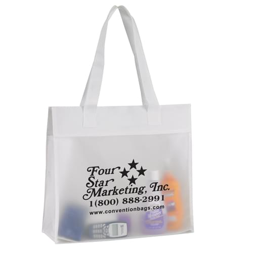 Environmentally Friendly Frosted Tote Bags
