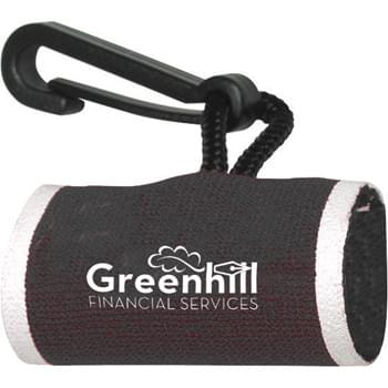 Lip Balm Clip Only - Use this neoprene sleeve with a clip to make sure that you never lose your lip balm again!  Handy neoprene sleeve with clip easily fits around a lip balm tube. Available in 13 different colors and can be decorated with a maximum two-color imprint. US Patent #D502,311 5.