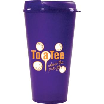32-oz. Tuf Tumbler Cup - 32-oz. Tuf Tumblers are made from heavy-duty plastic.  Microwave and top-rack dishwasher safe.  Made in USA.