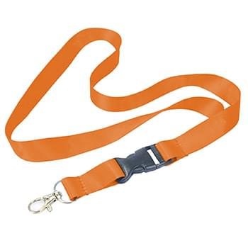 1/2 inch Nylon Lanyards w/ Safety Breakaway
