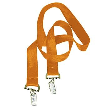 1 inch Double Ended Dye Sublimation Lanyards