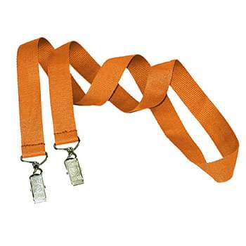 3/4 inch Double Ended Polyester Lanyards