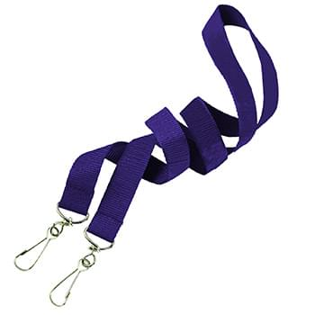 5/8 inch Double Ended Polyester Lanyards
