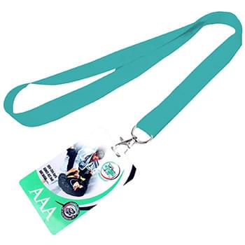 5/8 inch Dye Sublimation Lanyards w/ PVC Card