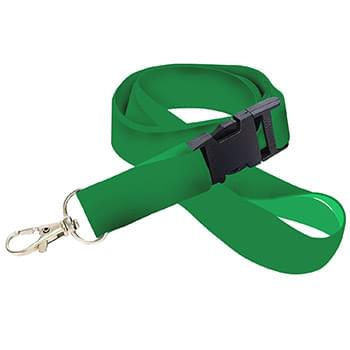 1 inch Dye Sublimation Lanyards w/ Buckle Release