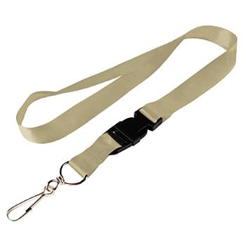 1/2 inch Dye Sublimation Lanyards w/ Buckle Release