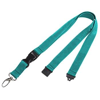 3/4 inch Dye Sublimation Lanyards w/ Buckle Release
