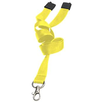 1 inch Dye Sublimation Lanyards w/ Safety Breakaway