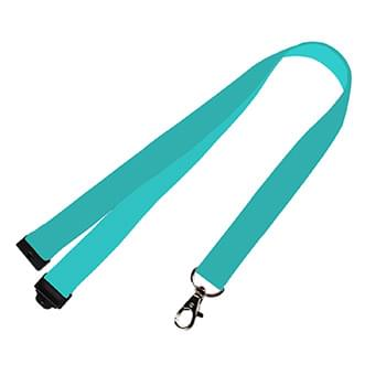 1/2 inch Dye Sublimation Lanyards w/ Safety Breakaway