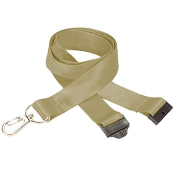 3/4 inch Dye Sublimation Lanyards w/ Safety Breakaway