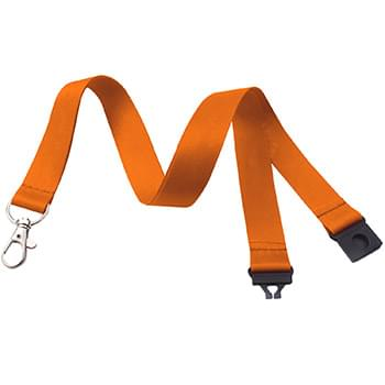 5/8 inch Dye Sublimation Lanyards w/ Safety Breakaway