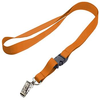 3/4 inch Polyester Full Color Lanyards w/ Buckle Release