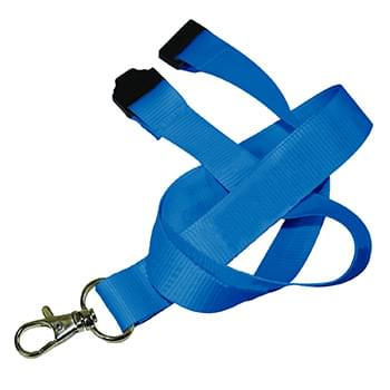 1 inch Polyester Full color Lanyards