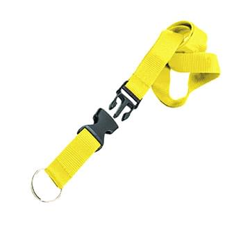 1 inch Polyester Lanyards w/ Buckle Release