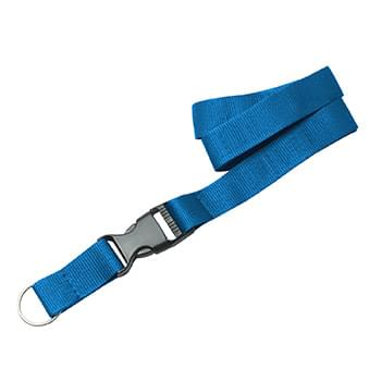 3/4 inch Polyester Lanyards w/ Buckle Release