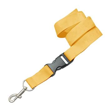 5/8 inch Polyester Lanyards w/ Buckle Release