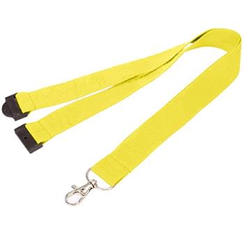 1 inch Polyester Lanyards w/ Safety Breakaway