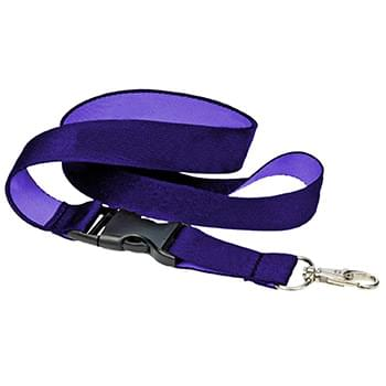 3/4 inch Woven Lanyards w/ Buckle Release