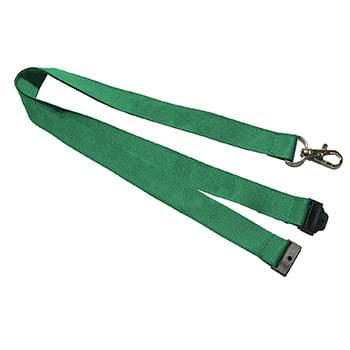 1 inch Woven Lanyards w/ Safety Breakaway