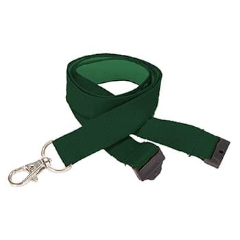 1/2 inch Woven Lanyards w/ Safety Breakaway