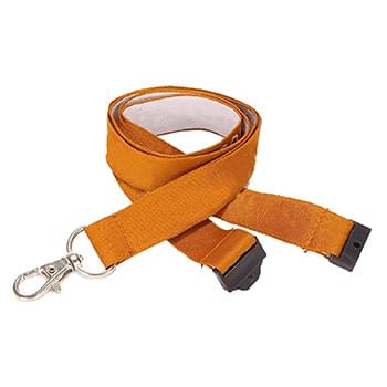 3/4 inch Woven Lanyards w/ Safety Breakaway